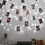 Qedertek Guirlande Lumineuse Micro 200 LED Blanc Froid 20m de Long pour Décoration de Chambre, Vitrine, Bistrot, Noël, Mariage de la marque Qedertek image 4 produit