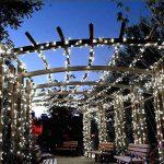 Qedertek Guirlande Lumineuse Solaire 100 LED Blanc 12 Mètres 8 Jeux de lumière Guirlande Extérieure Solaire idéal pour la Décoration de Fête, Mariage, Anniversaire et Jardin Extérieur de la marque Qedertek image 3 produit