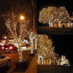 Qedertek Guirlande Solaire Extérieure 200 LED Blanc Chaud 22 Mètres 8 Jeux de lumière Guirlande Lumineuse pour la Décoration de Jardin, Patio, Clôture, Balcon de la marque Qedertek image 3 produit