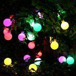Qedertek Lumière Décoration de Noël, Guirlande Lumineuse Boule avec Adapteur 13M 100 LED Guirlande Intérieur Multicolore pour Mariage Pâques Anniversaire de la marque Qedertek image 1 produit