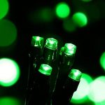 Qedertek Lumière Halloween, Guirlande Solaire Vert 22m 200 LED Guirlande Lumineuse Extérieure pour Décoration Halloween, Party, Cosplay, Jardin de la marque Qedertek image 1 produit