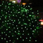 Qedertek Lumière Halloween, Guirlande Solaire Vert 22m 200 LED Guirlande Lumineuse Extérieure pour Décoration Halloween, Party, Cosplay, Jardin de la marque Qedertek image 3 produit