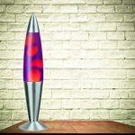 Rabalux Lollipop 2 Lampe à lave, Verre Métal, Orange/Gelb, 11 x 11 x 42 cm, E14 25watts de la marque Rabalux image 2 produit