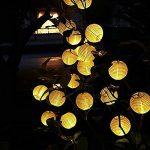 RainBabe Guirlandes Lumineuses d'extérieur de Noël Boules Cordon Lumineux Solaire en PVC Décoration pour Maison Jardin Soirée Mariage Fête Noël de la marque RainBabe image 2 produit