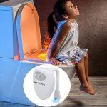 Rechargeable UV Stérilisateur LED Lampe Toilette - Détecteur de Mouvement WC Veilleuse 16 Changements de Couleur Pour WC/Cuvette Siège/Salle de Bain de la marque SUPTEMPO image 4 produit