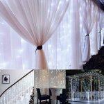 Rocita 300LED 3M*3M 8 Modes LED Guirlandes Lumineuses Rideau Fenêtre Chaîne de Lampes pour Décoration Noël Fête Mariage Anniversaire Maison Jardin - Blanc de la marque yongding image 3 produit