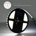 Roleadro Ruban LED Strip avec Alimentation et Silicone Clip Blanc Froid 6000K IP65 Bandes Led 5M 12V 2835SMD 300 LED Flexible pour Décoration Intérieure de la marque Roleadro image 3 produit