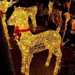 Rophie Guirlande lumineuse solaire étanche en fil de cuivre avec 200LED blanc chaud - Longueur 22m - Guirlande lumineuse pour l'intérieur et l'extérieur - Idéale comme décoration de Noël, pour une fête ou un mariage de la marque Rophie image 1 produit