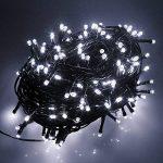 RPGT Noël Guirlande lumineuse LED, 200 Blanc LEDs sur Câble Vert Foncé pour Noël, Sapin, Maison, Fêtes, Mariages, Anniversaire, Nouvel An de la marque RPGT® image 2 produit