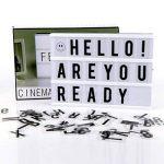 RTjoy illuminez votre vie ~ Boîte cinématographique Lumineuse ~ à piles de la marque RTjoy image 4 produit