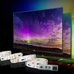 Rétro-éclairage LED TV, éclairage USB Bias 2M avec 16 Couleurs et 4 Modes Dynamiques pour Téléviseur HD 40 à 60 pouces, Moniteur PC, Bande Lumineuse Led. de la marque MY LAMP image 4 produit
