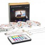 Rétro-éclairage LED TV, éclairage USB Bias 2M avec 16 Couleurs et 4 Modes Dynamiques pour Téléviseur HD 40 à 60 pouces, Moniteur PC, Bande Lumineuse Led. de la marque MY LAMP image 1 produit