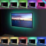 rétroéclairage LED 2m 5V étanche adapté pour TV, PC, aquarium de poissons, voiture de Noël, décoration intérieure et extérieure. (Profitez de la lumière romantique) de la marque Ldex image 4 produit