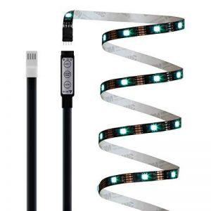 rétroéclairage LED 2m 5V étanche adapté pour TV, PC, aquarium de poissons, voiture de Noël, décoration intérieure et extérieure. (Profitez de la lumière romantique) de la marque Ldex image 0 produit