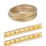 Ruban LED 220V AC 5050 IP68 étanche, High Bright Three Chips, LED Strip Light Très Lumineux Bandeau (blanc chaud, 20m) de la marque DUVERT image 3 produit