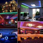 Ruban LED Etanche 5M 2835 RGB,300 LED avec Télécommande 24 touches, 2A 12V de la marque Innoo Tech image 2 produit