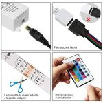 Ruban LED Etanche 5M 2835 RGB,300 LED avec Télécommande 24 touches, 2A 12V de la marque Innoo Tech image 4 produit