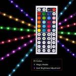Ruban LED RGB 2M 5050 SMD 60 LEDS, TopKeep Kit de Rande LED Lumineux avec télécommande à infrarouge 44 touches et Alimentation 2A 12V de la marque TopKeep image 2 produit