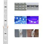 Ruban à LED RGB Multicolore, Strip Flexible Bande, 220V AC 5050 IP68 étanche, LED Strip Light avec changement de couleur 24 Touches (10m) de la marque DUVERT image 4 produit