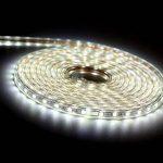 Ruban à LED, Ruban LED Etanche, Très Lumineux Bandeau Led 220v, 5050 IP65 Etanche Bande Strip Led, Blanc Froid (10m) de la marque DUVERT image 4 produit