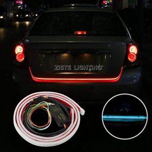 Ruban lumineux LED flexible étanche pour coffre, feux stop, feux arrière, clignotants, warnings - éclairage Rouge/bleu glacier de la marque ZISTE image 0 produit