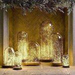 Salcar coloré LED Guirlande Lumineuse DE 10 mètres / 33 Ft 100 diodes à l'intérieur du Fil de cuivre Micro USB pour Les fêtes de Noël Party Decorating (Blanc Chaud) de la marque Salcar image 4 produit
