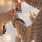 Salcar coloré LED Guirlande Lumineuse DE 10 mètres / 33 Ft 100 diodes à l'intérieur du Fil de cuivre Micro USB pour Les fêtes de Noël Party Decorating (Blanc Chaud) de la marque Salcar image 3 produit