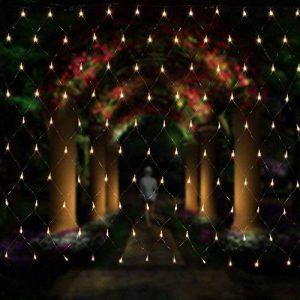 Salcar Filet lumineux à LED 3 x 2 m pour décoration de Noël, fêtes, intérieur, 8 programmes de changement de lumière (blanc chaud) de la marque Salcar image 0 produit