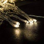 Salcar Filet lumineux à LED 3 x 2 m pour décoration de Noël, fêtes, intérieur, 8 programmes de changement de lumière (blanc chaud) de la marque Salcar image 1 produit