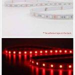 Salcar Kit de Ruban à LED 5m RGB Tuyau lumineux avec 300 LEDs (SMD5050), IP67 protégé contre l'eau/étanche/extérieur, 16 couleurs au choix, télécommande IR 24 touches incluse, contrôleur et bloc d'alimentation 12V 60W de la marque Salcar image 1 produit