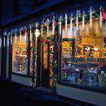 Samoleus Éclairage de Pluie de Météore 50cm 10 Tube 540 LEDs Meteor Douche Feux Lumières avec Plug EU pour la Décoration de Arbre de Noël Jardin (Blanc-50cm) de la marque Samoleus image 2 produit