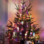 Samoleus Guirlande de Sapin Bougie, 10 pièces Couleur LED Lumineuse de Noël Bougies avec Clip 18 clé Télécommande pour Décorations D'arbres, Lumières de Noël de la marque Samoleus image 1 produit