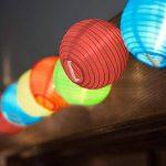 Samoleus Lanterne Boule Lumières IP65 Étanche Solar Powered Chinoises Noël String S'allume pour Extérieur, Patio, Jardin, Vacances, Fête, Mariage de la marque Samoleus image 2 produit