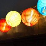 Samoleus Lanterne Boule Lumières IP65 Étanche Solar Powered Chinoises Noël String S'allume pour Extérieur, Patio, Jardin, Vacances, Fête, Mariage de la marque Samoleus image 4 produit