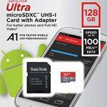 SanDisk - SDSQUAR-128G-GN6MA - Carte Mémoire MicroSDHC Ultra 128GB avec Vitesse de Lecture Allant jusqu'à 100MB/S, Classe 10 (FFP) (Nouvelle Version) de la marque SanDisk image 4 produit