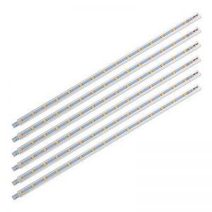 SEBSON® Éclairage sous meuble 30cm, Lampes de Placard, Blanc chaud, 2W, 125lm, 5x3,5x300mm, lot de 6 de la marque sebson image 0 produit