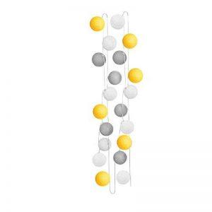 Sema 98820 Guirlande Electrique Boules Texture/Coton Jaune de la marque Sema image 0 produit