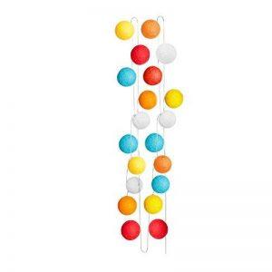Sema 98821 Guirlande Electrique Boules Texture/Coton Multicolore de la marque Sema image 0 produit