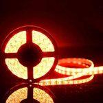 SENDIS Kit de Ruban à LED 5m / 60W, 300 LEDs multicolores 5050 RGB SMD Etanche + Adapteur + Alimentation + télécommande à infrarouge 44 touches de la marque SENDIS image 3 produit