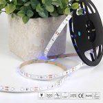 Signcomplex Bande LED flexible 3528 SMD Ruban LED avec ruban autocollant 3M 5m une bobine 12V DC (Bleu) de la marque Signcomplex image 3 produit