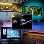 Simfonio LED de Rétroéclairage de TV - Ruban LED 1M USB Bande LED Flexible Lumineux - avec la télécommande pour HDTV, Moniteur de PC de la marque Simfonio image 1 produit