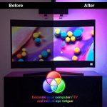 SOLMORE 2M Ruban LED TV à Télécommande Étanche IP65 Bande Éclairage Derrière Télé Flexible Strip Rétro-Éclairage Guirlande Lumineuse Déco Atmosphère Ordinateur Écran PC Aquarium (2M Ruban LED TV USB) de la marque SOLMORE image 1 produit