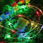 Splink LED Guirlande Lumineuse Exterieur Noël Tube 10m 100 LEDs Lumière Multicolore Imperméable IP67 8 Mode Dimmable Décoration Jardin Ambiance de Soirée Bal de la marque Splink image 2 produit