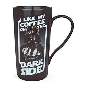 Star wars céramique-tasse à latte macchiato - 500 ml-dark vador-bouche et langue livré dans une boîte cadeau de la marque Star Wars image 0 produit