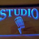 Studio lumineux Enseigne Panneau neuf LED chargement Publicité Fluo Neon Bar Disco on air TV Radio de la marque Zhengdian Electronic image 3 produit