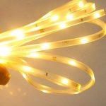 SUAVER LED Strip Light Extérieur, Etanche Flexible Ruban LED Solar Powered 16.4ft / 5M SMD2835 100LED Mood Cordes Éclairage pour cuisine, Chambre, Home décorative lighting, Party, Décorative Christmas de la marque SUAVER image 3 produit