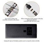 Sunix Ruban à LED pour HDTV Rétroéclairage TV USB pour téléviseur HD 40 à 60 Pouces, Flexible Strip Light (50cm x 4) + télécommande à Infrarouge 44 Touches LED Light Strip pour TV, Bureau, Ordinateur de la marque Sunix image 4 produit