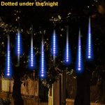 Sunnymi LED Meteor Douche lumières, étanche Lampes solaires de gouttes d'eau Décoration de jardin Guirlande lumineuse pour fête de mariage Sapin de Noël Patio Décoration de la marque sunnymi image 2 produit