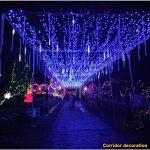 Sunnymi LED Meteor Douche lumières, étanche Lampes solaires de gouttes d'eau Décoration de jardin Guirlande lumineuse pour fête de mariage Sapin de Noël Patio Décoration de la marque sunnymi image 3 produit