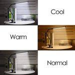 Svance USB Lampe à Pince LED avec 3 Modes (Apprentissage / Lecture / Détente), dimmable LED Lampe de Bureau (10 Niveaux de Luminosité) / (Argent) de la marque Svance image 1 produit